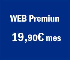 OFERTA DISEÑO DE PÁGINA WEB Desde 19,90€ mes