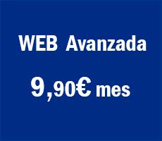 OFERTA DISEÑO DE PÁGINA WEB Desde 9,90€ mes